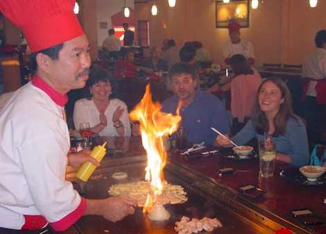 Fujiyama Steakhouse Amp Sushi Bar Austin Texas